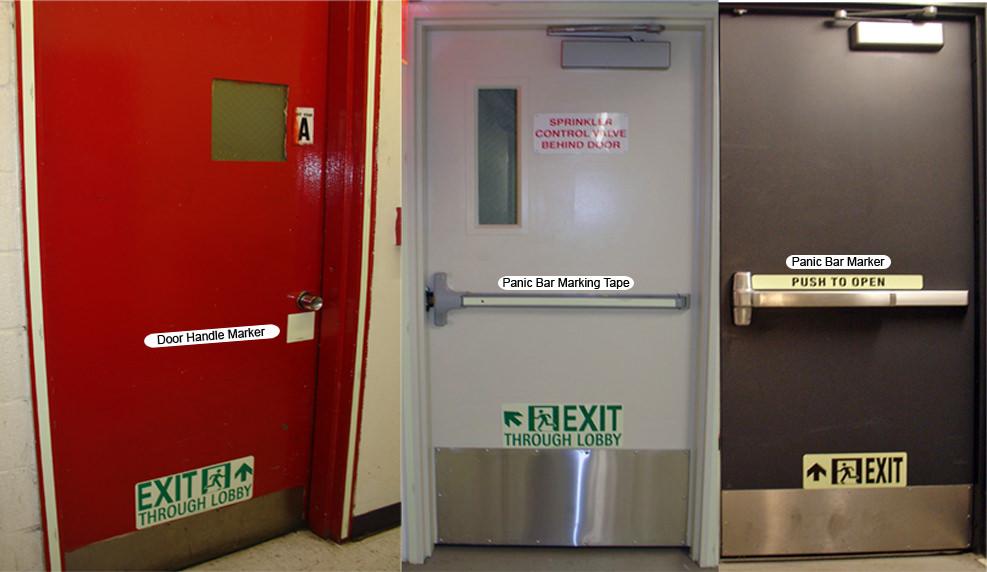 Door Hardware Photoluminescent Markings & Stairwell « SUMA Industries